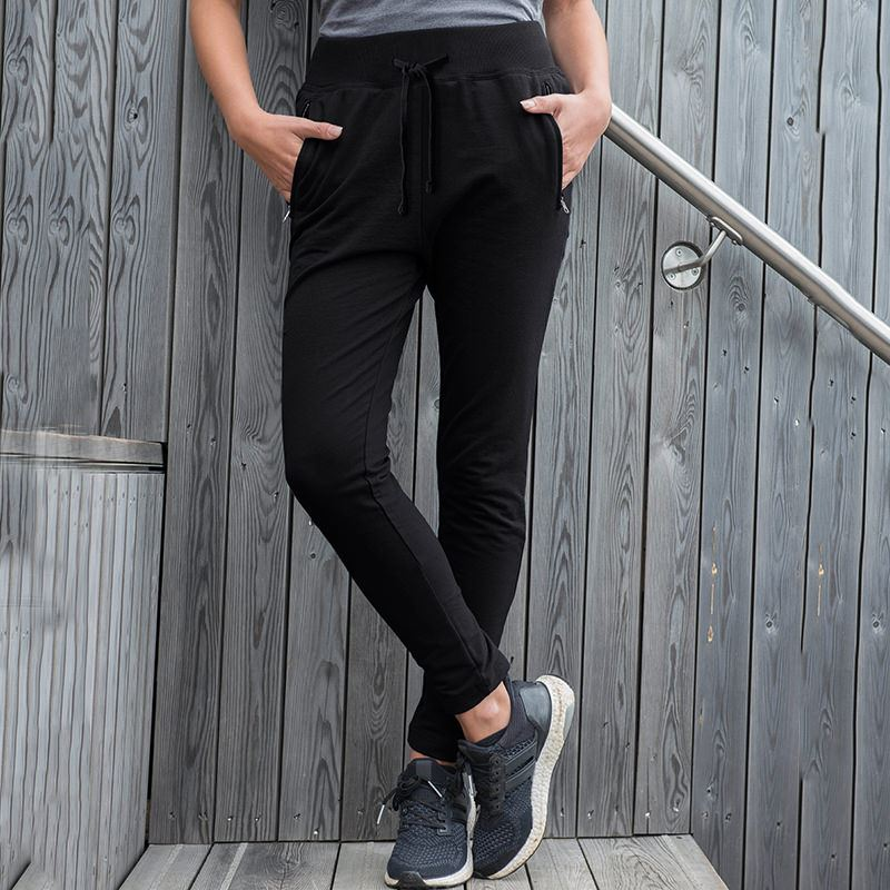 01 awdis girlie tapered track pants black